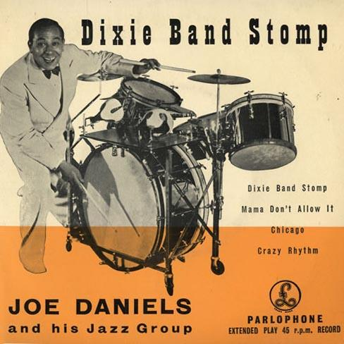 Joe Daniels, Dixie Band Stomp, Melody Line & Chords