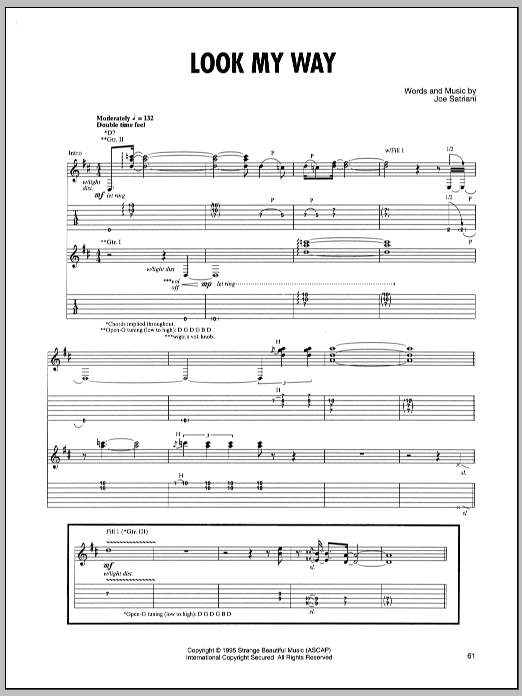 Look My Way sheet music