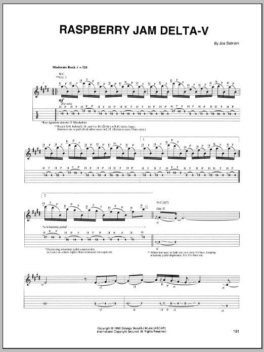 Raspberry Jam Delta-V sheet music
