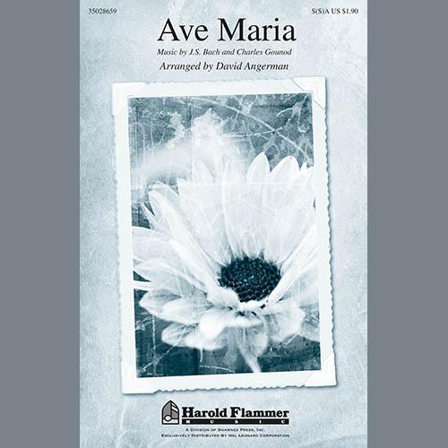 Johann Sebastian Bach, Ave Maria (arr. David Angerman), SSA