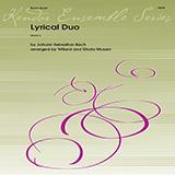 Download Johann Sebastian Bach Lyrical Duo (arr. Willard and Gloria Musser) sheet music and printable PDF music notes