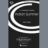 Download John Burge Indian Summer sheet music and printable PDF music notes