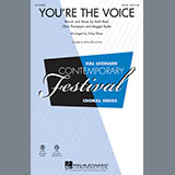 Download John Farnham You're the Voice (arr. Kirby Shaw) - Guitar 1 sheet music and printable PDF music notes