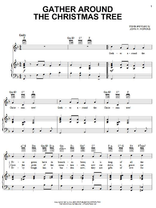 Gather Around The Christmas Tree sheet music