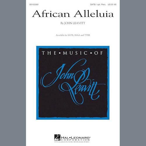 African Alleluia sheet music