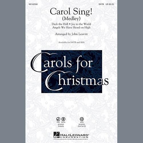John Leavitt, Carol Sing! - F Horn 1, Choir Instrumental Pak