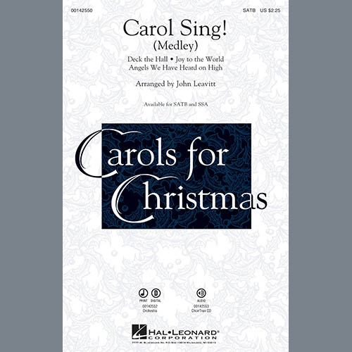 John Leavitt, Carol Sing! - Percussion 1, Choir Instrumental Pak