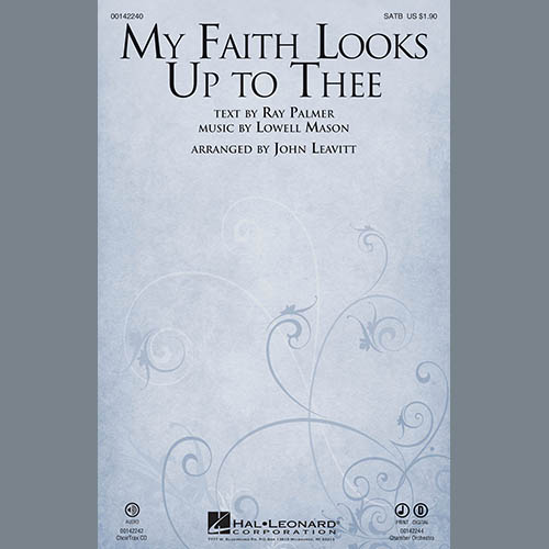 John Leavitt, My Faith Looks Up To Thee - Bb Clarinet 2 (sub. A Cl. 2), Choir Instrumental Pak