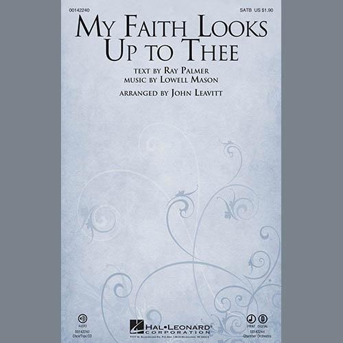John Leavitt, My Faith Looks Up To Thee - Harp, Choir Instrumental Pak