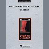 Download John Leavitt Three Dances from Water Music - Violin 3 (Viola T.C.) sheet music and printable PDF music notes