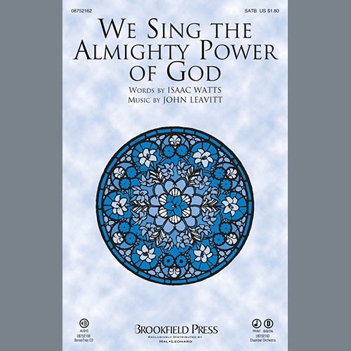 We Sing The Almighty Power Of God - Harp sheet music