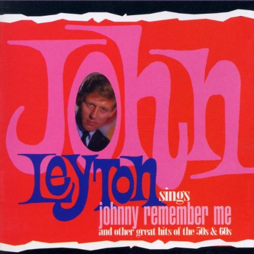 John Leyton, Johnny Remember Me, Piano, Vocal & Guitar (Right-Hand Melody)