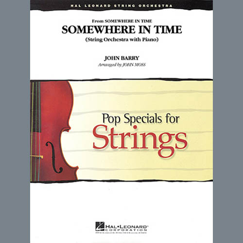 John Moss, Somewhere in Time - Violin 3 (Viola T.C.), Orchestra