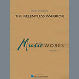 Download John Wasson The Relentless Warrior - Percussion 1 sheet music and printable PDF music notes