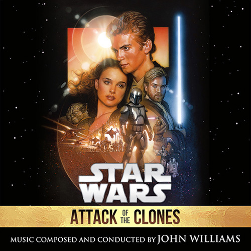 John Williams, Across The Stars (from Star Wars: Attack of the Clones), Piano (Big Notes)