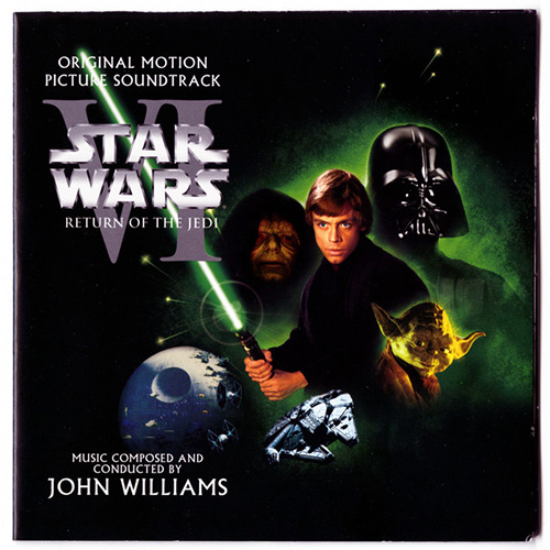 John Williams, Luke And Leia (from Star Wars: Return of the Jedi), Piano (Big Notes)