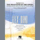 Download Johnnie Vinson Highlights from The Phantom of the Opera - Pt.5 - Baritone T.C. sheet music and printable PDF music notes