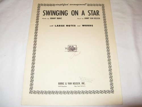 Johnny Burke and Arthur Johnston, Pennies From Heaven, Melody Line, Lyrics & Chords