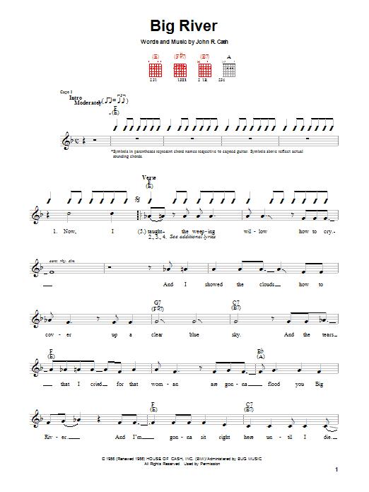 Big River sheet music