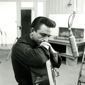 Johnny Cash, Daddy Sang Bass, Piano, Vocal & Guitar (Right-Hand Melody)