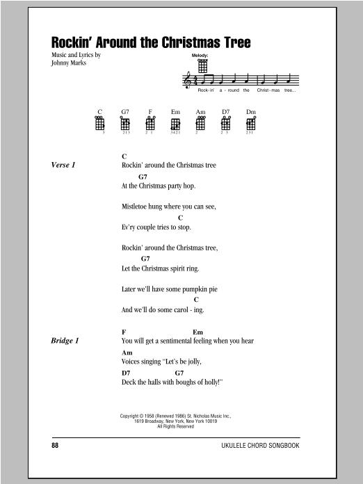 Rockin' Around The Christmas Tree sheet music