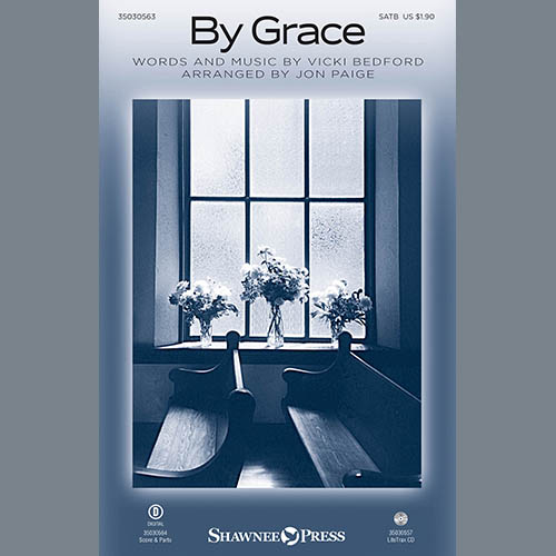 Jon Paige, By Grace - Acoustic Guitar, Choir Instrumental Pak