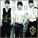 Download Jonas Brothers Just Friends sheet music and printable PDF music notes