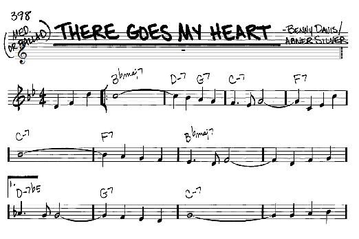 There Goes My Heart sheet music