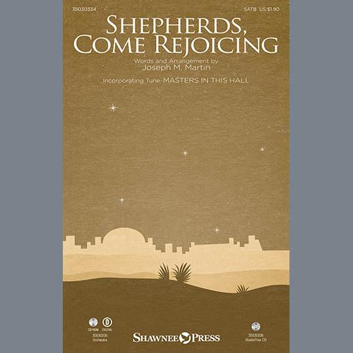 Joseph M. Martin, Shepherds, Come Rejoicing (from Voices Of Christmas) - Bb Trumpet 1, Choir Instrumental Pak