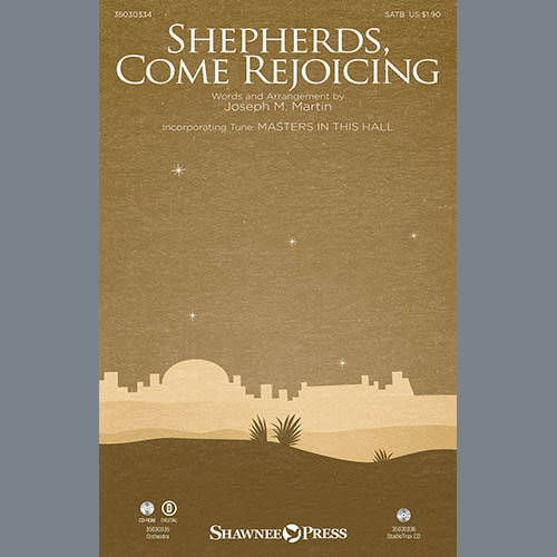 Joseph M. Martin, Shepherds, Come Rejoicing (from Voices Of Christmas) - Harp, Choir Instrumental Pak
