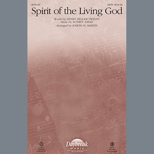 Joseph M. Martin, Spirit of the Living God - Cello, Choir Instrumental Pak