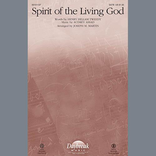 Joseph M. Martin, Spirit of the Living God - Harp, Choir Instrumental Pak