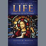 Download Joseph M. Martin Testimony of Life - Oboe sheet music and printable PDF music notes
