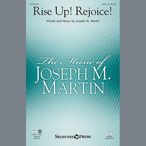 Joseph Martin, Rise Up! Rejoice! (from Footprints In The Sand) - Bb Clarinet 1 & 2, Choir Instrumental Pak