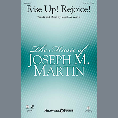 Joseph Martin, Rise Up! Rejoice! (from Footprints In The Sand) - Harp, Choir Instrumental Pak