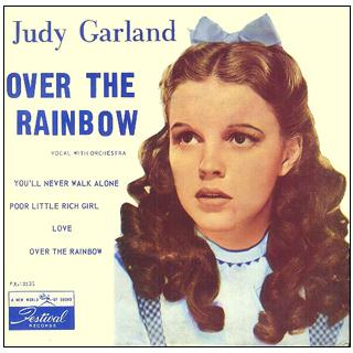 Judy Garland, Over The Rainbow, Piano, Vocal & Guitar (Right-Hand Melody)
