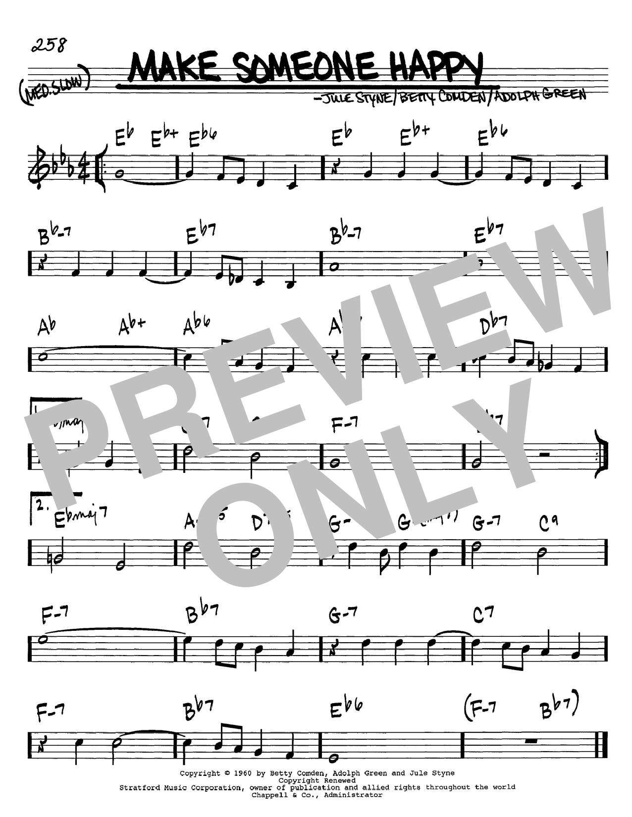 Make Someone Happy sheet music