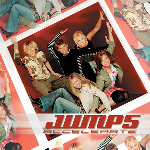 Jump5, All Because Of You, Piano, Vocal & Guitar (Right-Hand Melody)