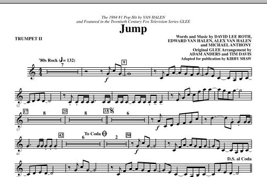 Kirby Shaw Jump Trumpet 2 Sheet Music Download Pdf Score 287804