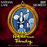 Download Andrew Lippa 'Just Around The Corner [Solo version] (from The Addams Family)' printable sheet music notes, Broadway chords, tabs PDF and learn this Piano & Vocal song in minutes