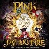Download Pink 'Just Like Fire' printable sheet music notes, Rock chords, tabs PDF and learn this Educational Piano song in minutes
