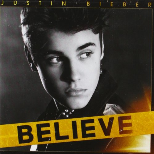 Justin Bieber, All Around The World, Piano (Big Notes)