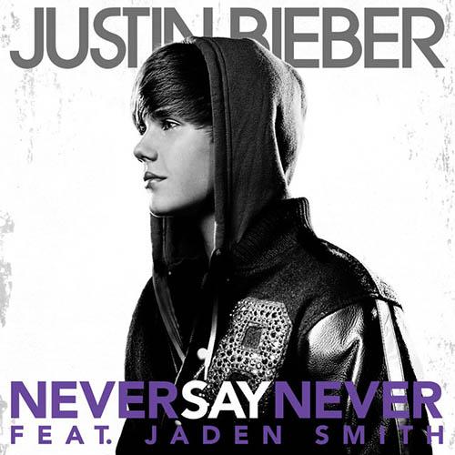 Justin Bieber, Never Say Never, Piano (Big Notes)