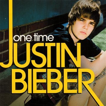 Justin Bieber, One Time, Piano (Big Notes)