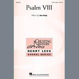 Download Ken Berg Psalm VIII sheet music and printable PDF music notes