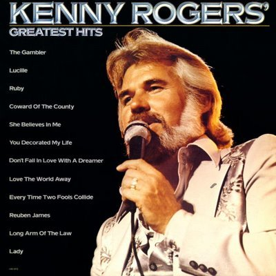 Kenny Rogers, Coward Of The County, Piano, Vocal & Guitar (Right-Hand Melody)