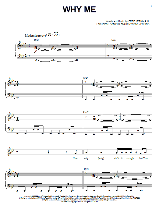 Why Me sheet music