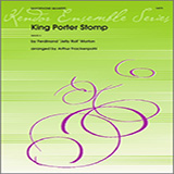 Download Arthur Frackenpohl 'King Porter Stomp - Eb Baritone Saxophone' printable sheet music notes, Jazz chords, tabs PDF and learn this Woodwind Ensemble song in minutes