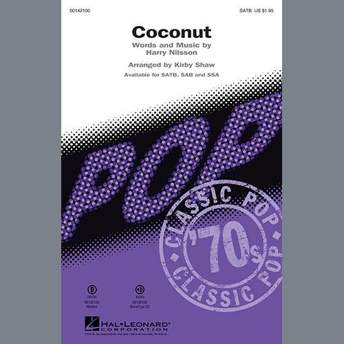 Kirby Shaw, Coconut - Bass, Choir Instrumental Pak