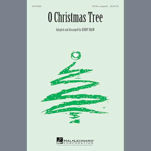 Kirby Shaw, O Christmas Tree, SATB